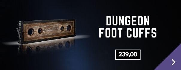 Enkelboeien Dungeon Foot Cuffs