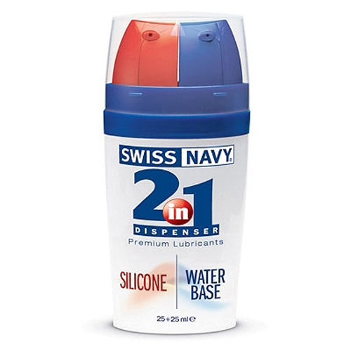 Image of Swiss Navy 2-in-1 Silicone&Waterbasis glijmiddel