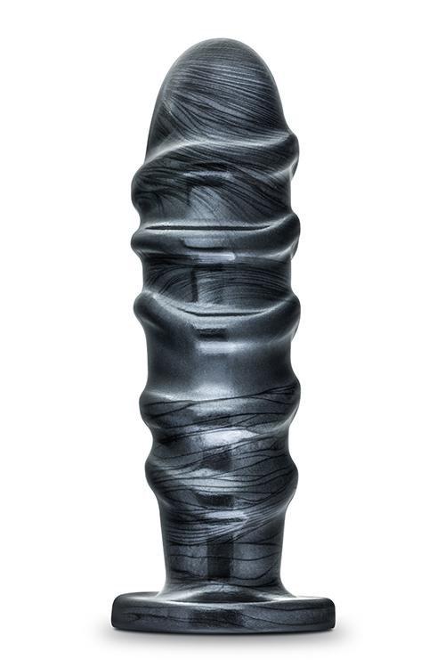 Image of Anaal Plug met Ribbels Jet Annihilator Carbon