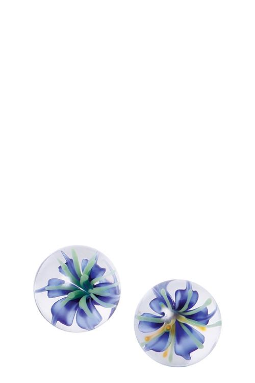 Image of Ben Wa Ballen met Blauwe Bloemen