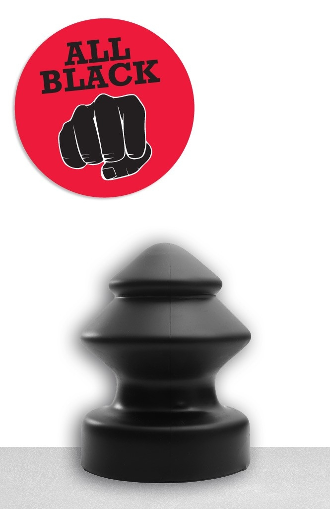 Afbeelding van All Black Jan Buttplug - 19 cm