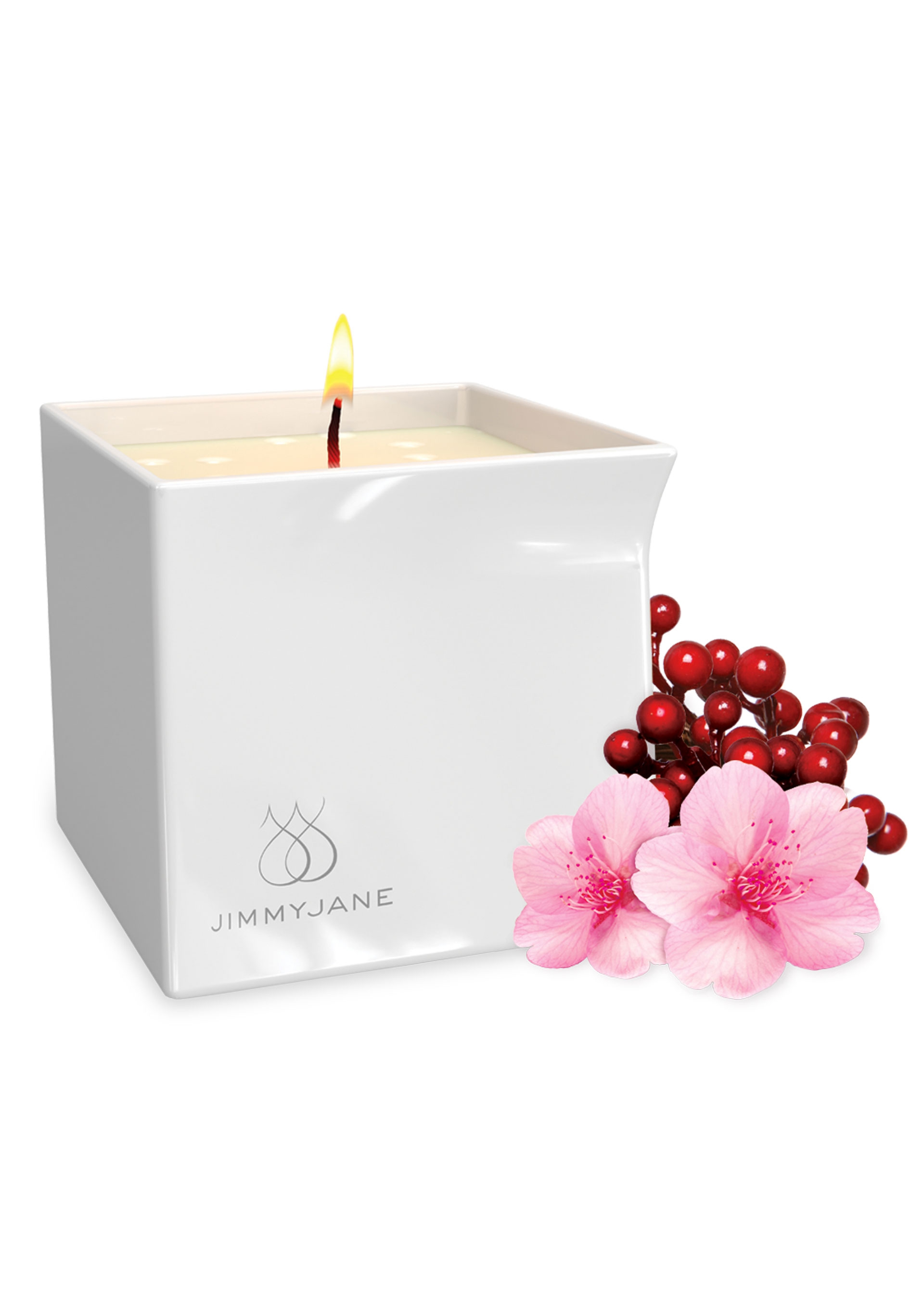 Image of After Glow Massage kaars - Berry Blossom