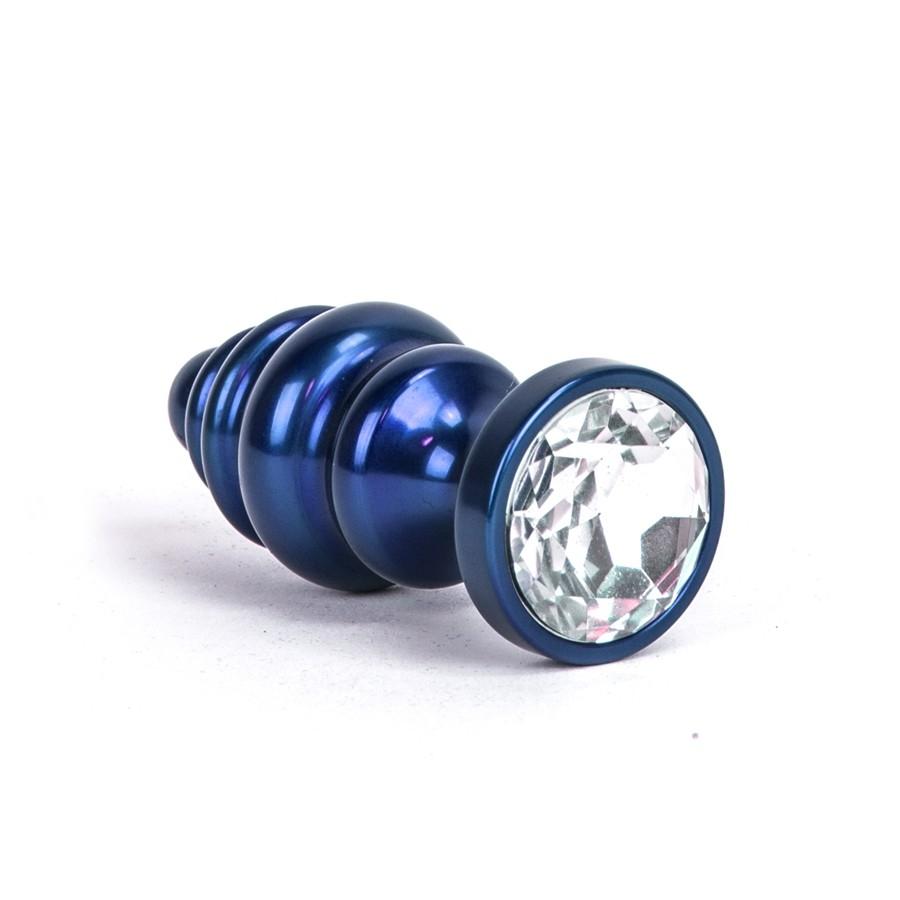 Image of Aluminium Alloy Anaal Plug - Blauw