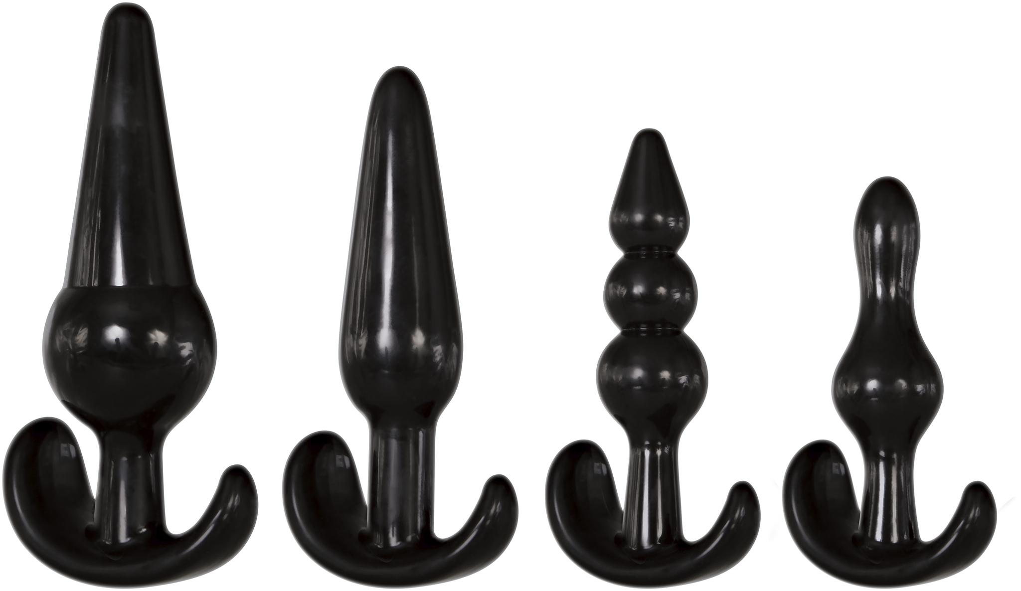Image of Anal Plug Set van 4 - Zwart