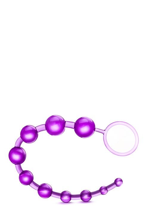 Image of Basic Beads met Ring - Paars