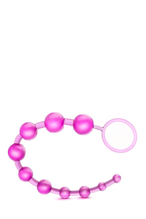 Image of Basic Beads met Ring - Roze