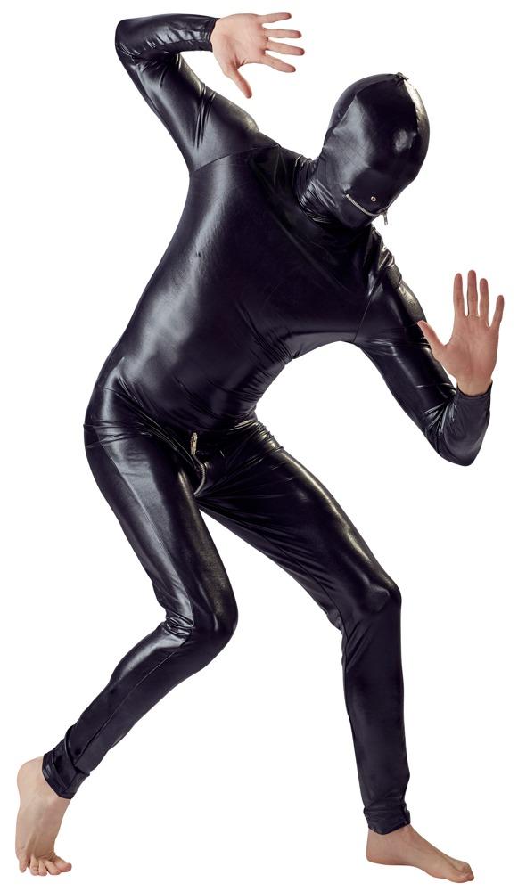 Image of Bodysuit met Masker - Zwart