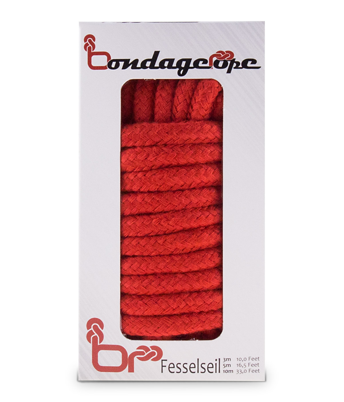 Image of Bondage Touw 10 Meter - Rood