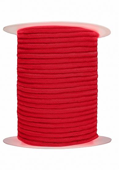 Image of Bondage Touw 100 Meter - Rood