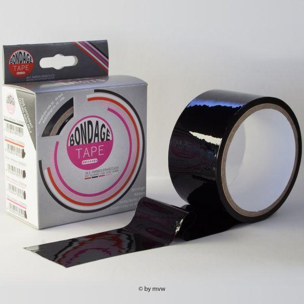 Image of Bondage Tape - Zwart c.a. 16 meter