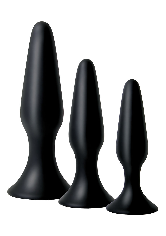 Image of Booty Bootcamp Butt plug Training Kit - Zwart