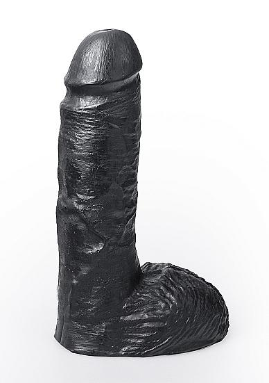 Image of Dildo Cesar - Black - 19 cm