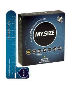 My.SIZE 47 mm - Condooms 3 stuks