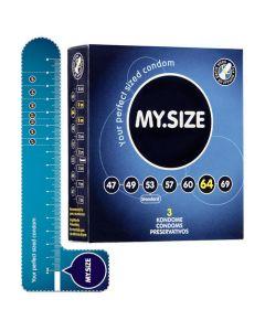 MY.SIZE 64 mm Condooms 3 stuks
