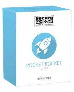 Secura Pocket Rocket Condooms - 100Stuks