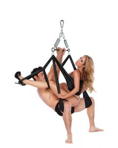 Bondage Whipsmart Yoga Pleasure Swing voorbeeld