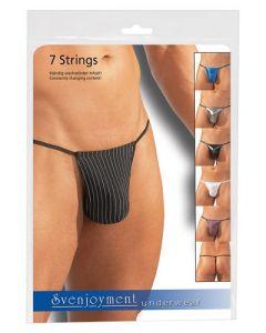 7 Delige string set (one size)
