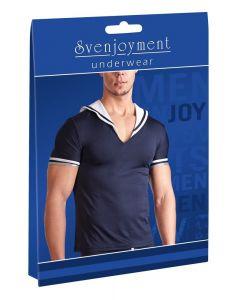 Matrozen T-shirt - Marineblauw/Wit