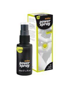 Energie opwindende spray mannen