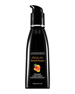 Glijmiddel op Waterbasis Peach  - 120 ml