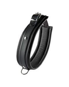 Zwarte halsband
