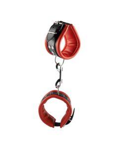 Luxe rode enkelbanden