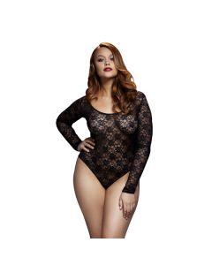 Sexy kanten body-Queen Size voor