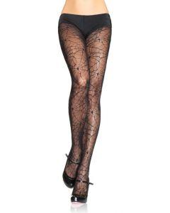 Panty in Spinnenwebdesign