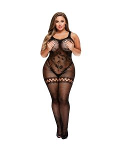 Kruisloze Bodystocking Queen Size