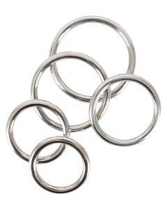 5 Delige Cock Ring Set - Metaal kopen