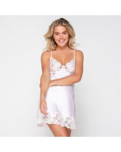 LingaDore Orchid Ice Chemise - Lila model voorkant