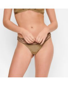 LingaDore Shades of Olive String voorkant
