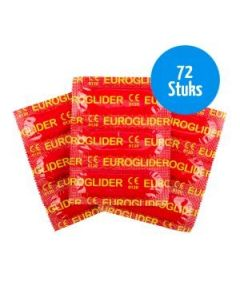 Euroglider Condooms - 72 Stuks