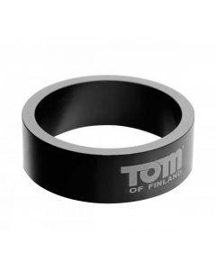 tom-of-finland-aluminium-cockring-50-mm-zwart-kopen