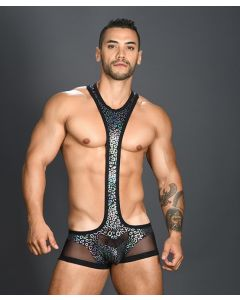 Andrew Christian - Disco Animal Mesh Ringer Singlet