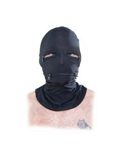 BDSM Masker Met Ritsen open