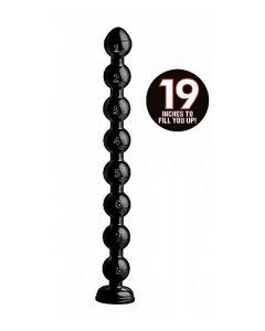 Beaded Thick Anal Snake Anaaldildo - 19 inch los