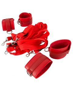 Bed Boeien voor Onder het Matras - Rood alles