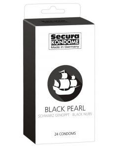 Secura Black Pearl Condooms - 24 Stuks doos