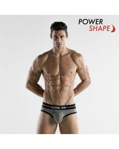 Code 22 Power Slip - Grijs Power Shape