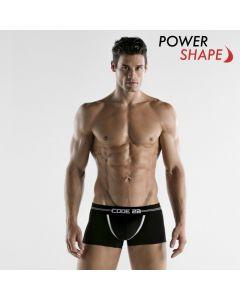 Code 22 Power Boxer - Zwart power shape
