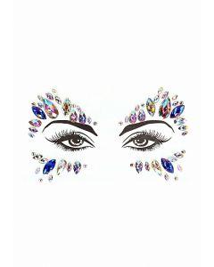 Dazzling Eye Sparkle Bling Sticker voorbeeld