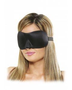 Deluxe Fantasy Love Mask - Zwart los