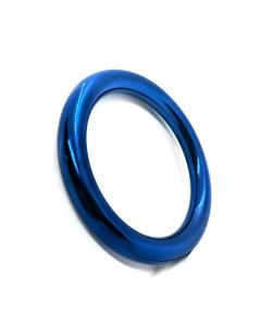 Donut Cock Ring RVS BlueBoy 8 mm. - Blauw