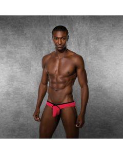 Doreanse Sexy Heren Slip - Roze voorkant