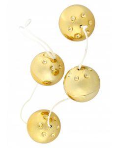 Duo Vagina Balls - Goud