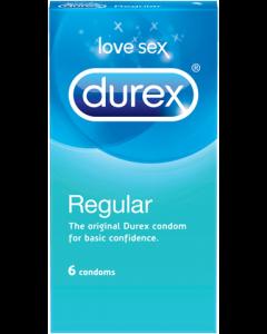 Durex Regular - 6 Stuks