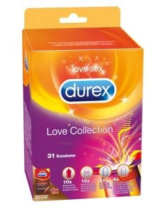 Durex Love Collection 31 stuks