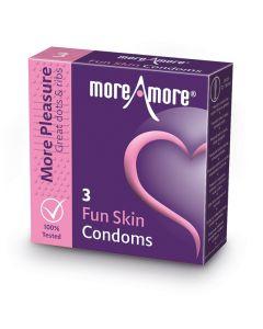 Condooms Fun Skin - 3 Stuks