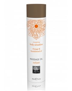 Energizing Massage Olie - Orange & Sandalwood Olie